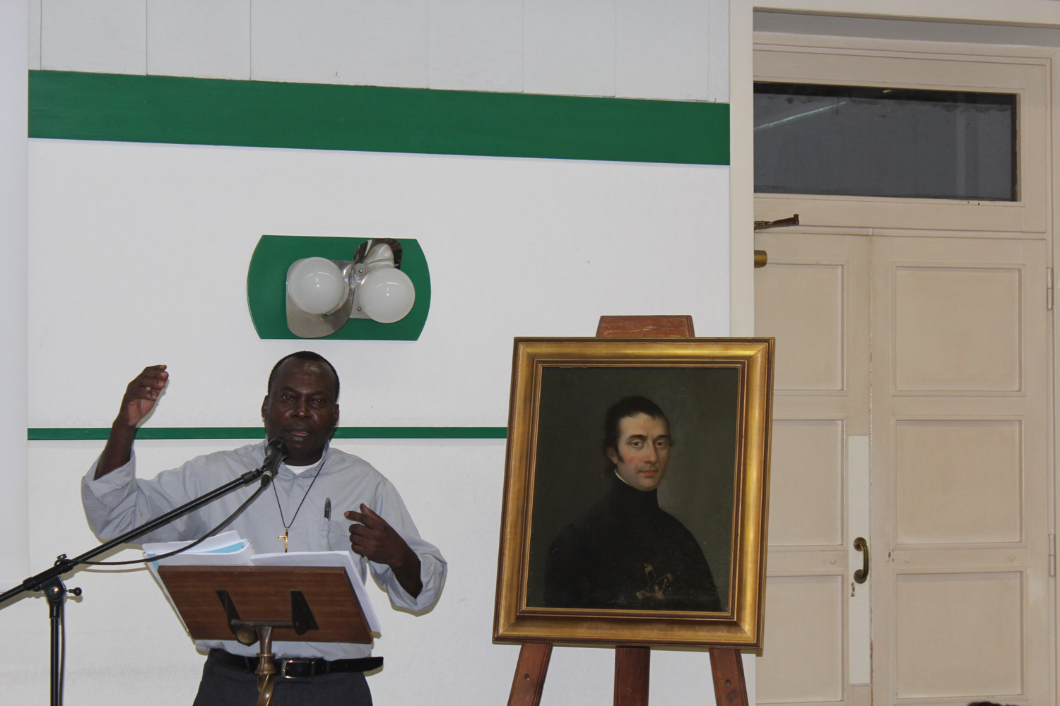 <b>Congress on Oblate Charism - Day 2 Rome</b><br>Fr. Gaby Kinze OMI of DR Congo<br>Shanil Jayawardena OMI<br>July 1st, 2015