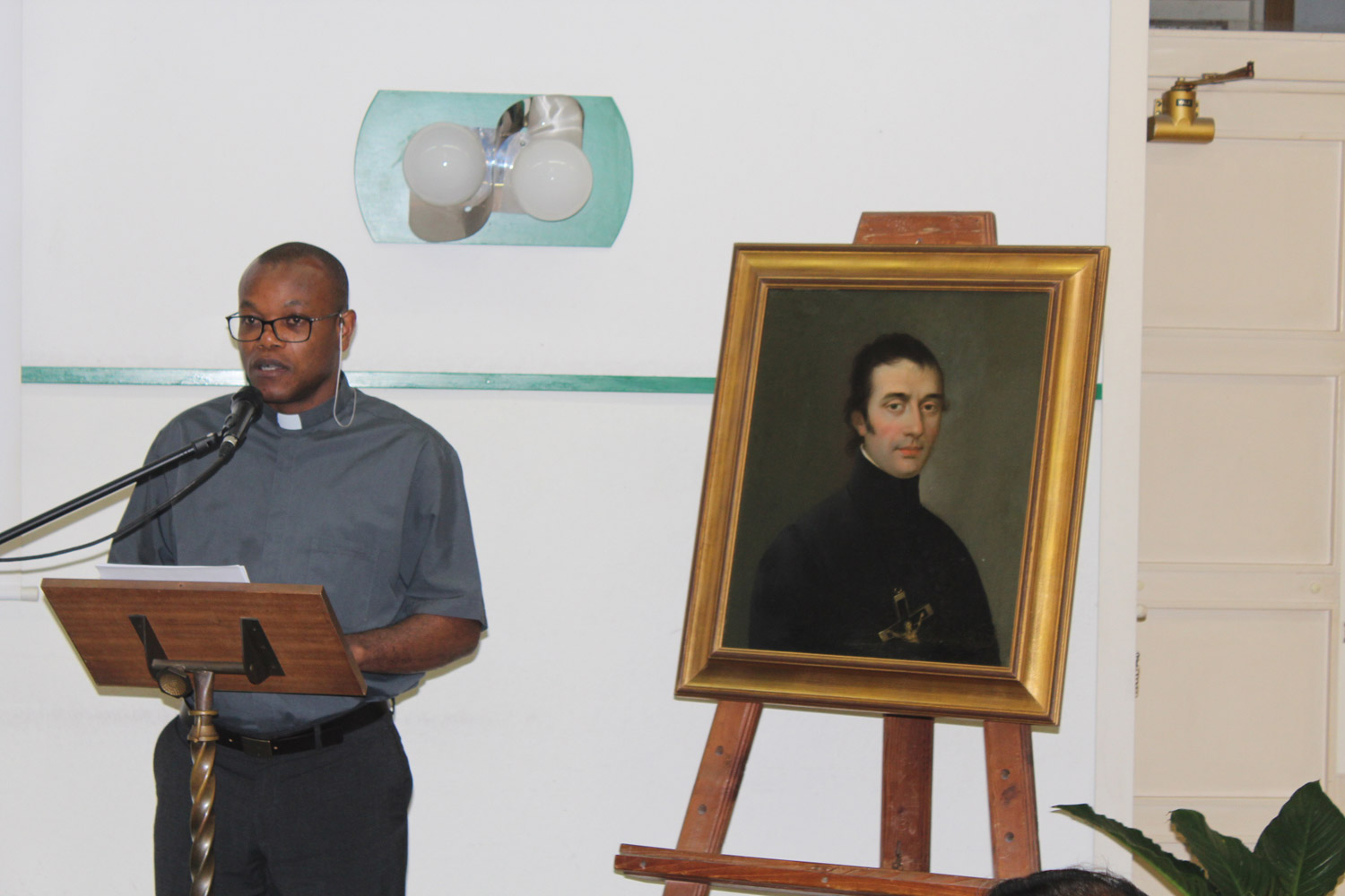 <b>Congress on Oblate Charism - Day 2 Rome</b><br>Fr. Jean Nicola OMI of Haiti<br>Shanil Jayawardena OMI<br>July 1st, 2015