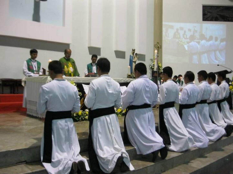 <b>Renovación de votos de los escolásticos en Yakarta</b><br>7 Noviembre 2011