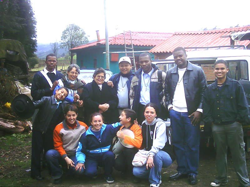 <b>Oblates in Bogota.</b><br>Oblates of the Mission in Cartagena visiting people.<br>OMI<br>April 24th, 2007
