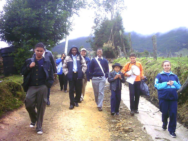 <b>Mission in Bogota.</b><br>A new mission in Bogota. Area of