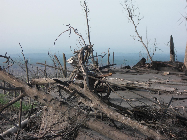 <b>Después de la erupción del Merapi</b><br>14 Noviembre 2011