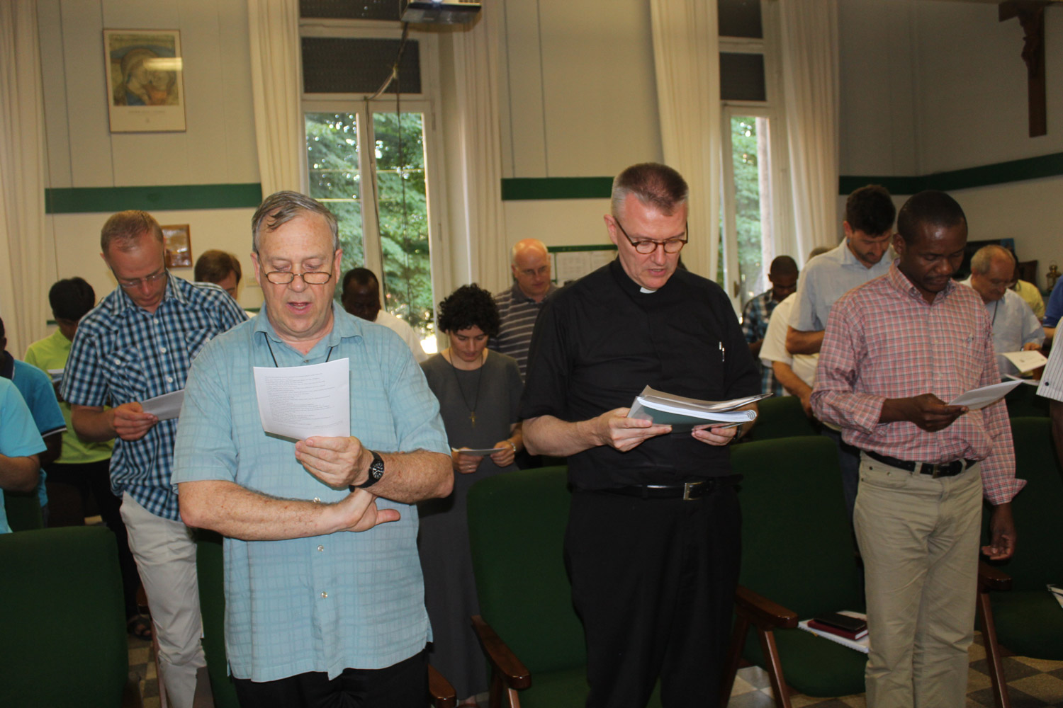 <b>Congress on Oblate Charism - first day in Rome</b><br>Opening prayer by Fr. General<br>Shanil Jayawardena OMI<br>June 30th, 2015