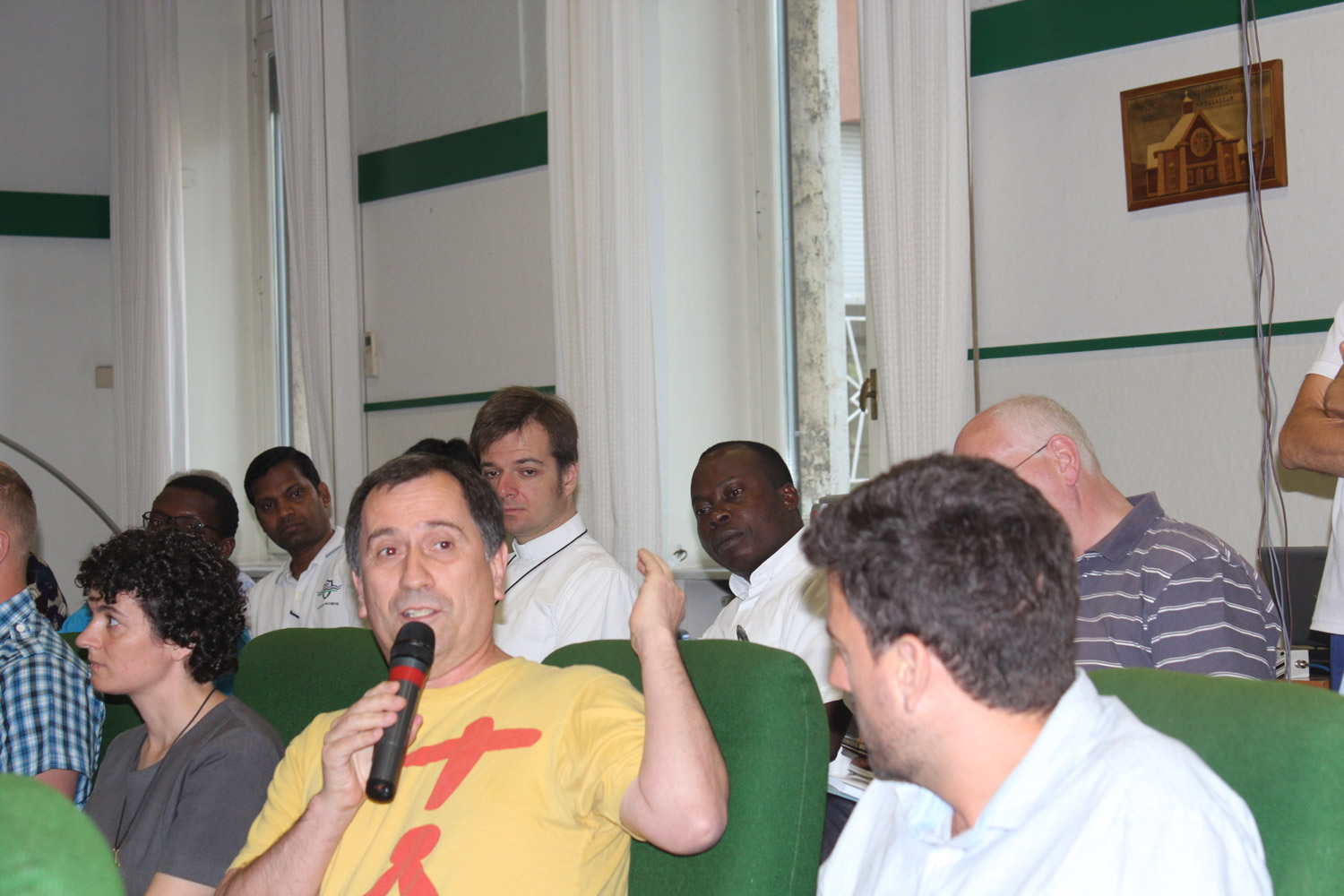 <b>Congress on Oblate Charism - first day in Rome</b><br>Fr. Chicho Rouis OMI<br>Shanil Jayawardena OMI<br>June 30th, 2015