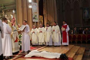 <b>Anton Litvinov OMI receiving consecration from Bishop Radoslaw Zmitrowicz OMI.</b><br>May 9th, 2016