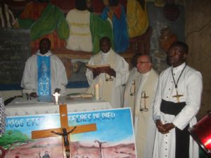 <b>Oblates at Mass in Prison</b><br>December 16th, 2015