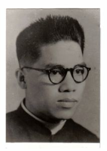 <b>P. Joseph Tien (1949)</b><br>Oblate Communications Service (OCS)<br>5 Novembre 2016